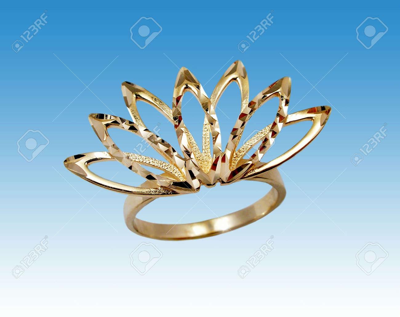 Golden ring Stock Photo - 899020