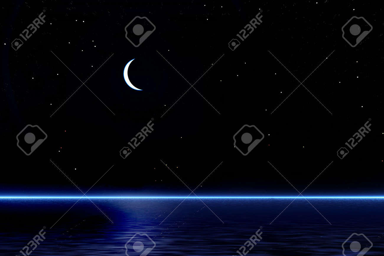 Moonlit night Stock Photo - 934046