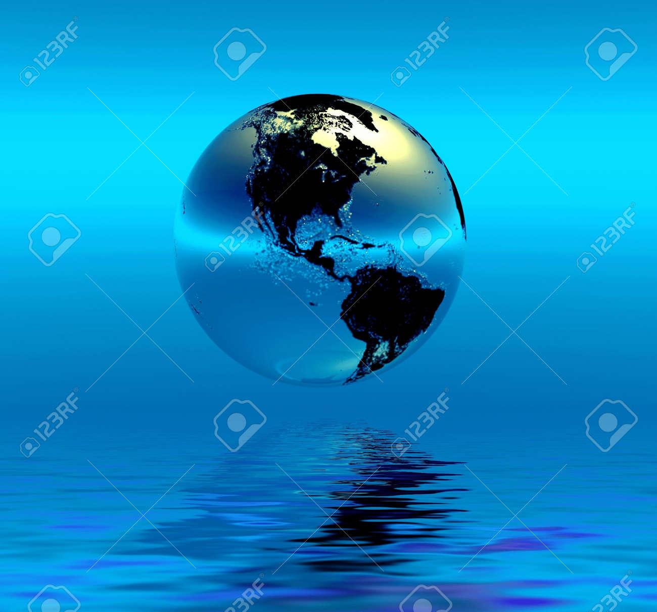 Planet Earth Stock Photo - 2409765