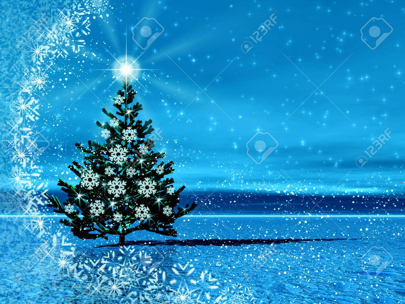 Christmas tree for celebratory design Stock Photo - 3987019