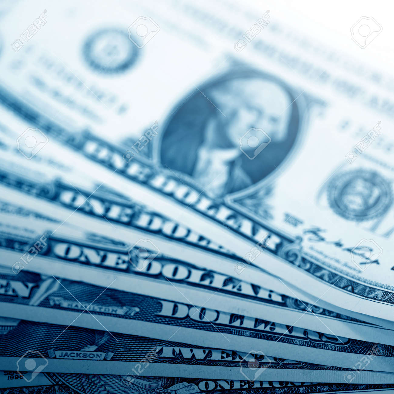 The money American dollars  Bundle of bank notes Stock Photo - 13208209