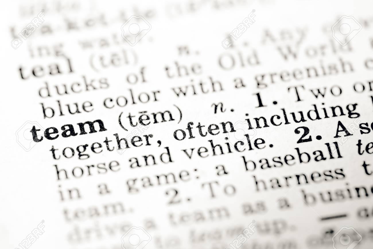 Team Definition Of Team At Dictionary Com >> Definition Of Word Team In Dictionary