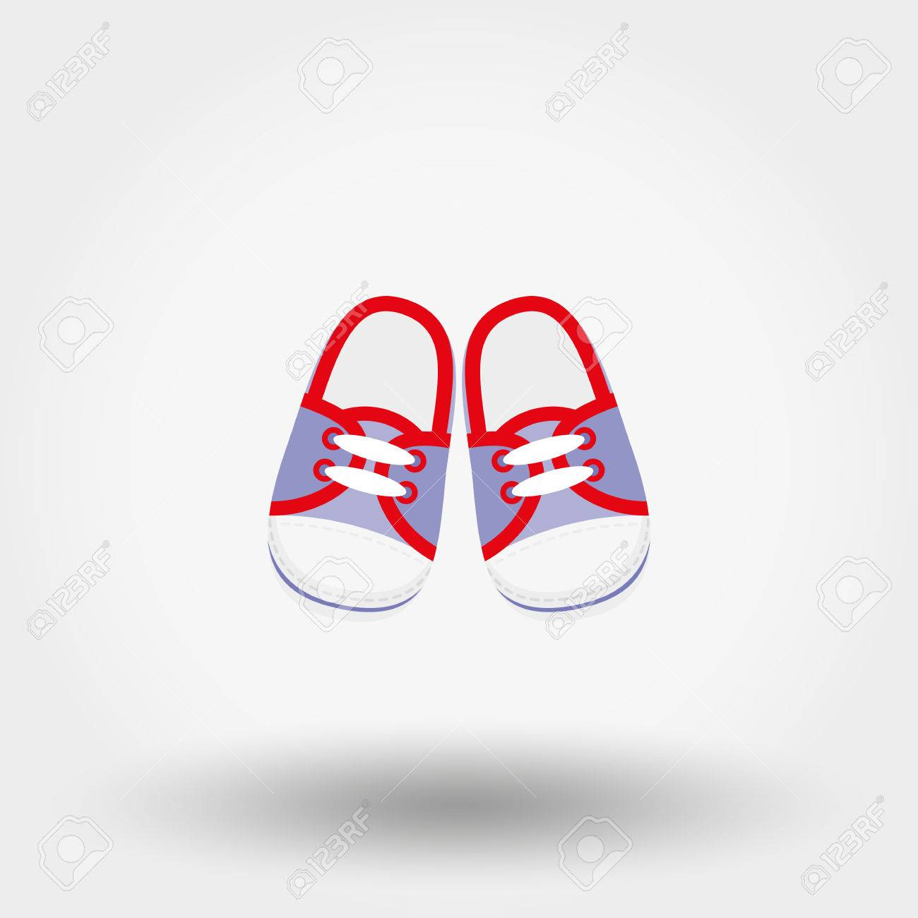 Booties Sneakers Baby Shoes Icon For Web And Mobile Application Royalty Free Cliparts Vectors And Stock Illustration Image 68360915