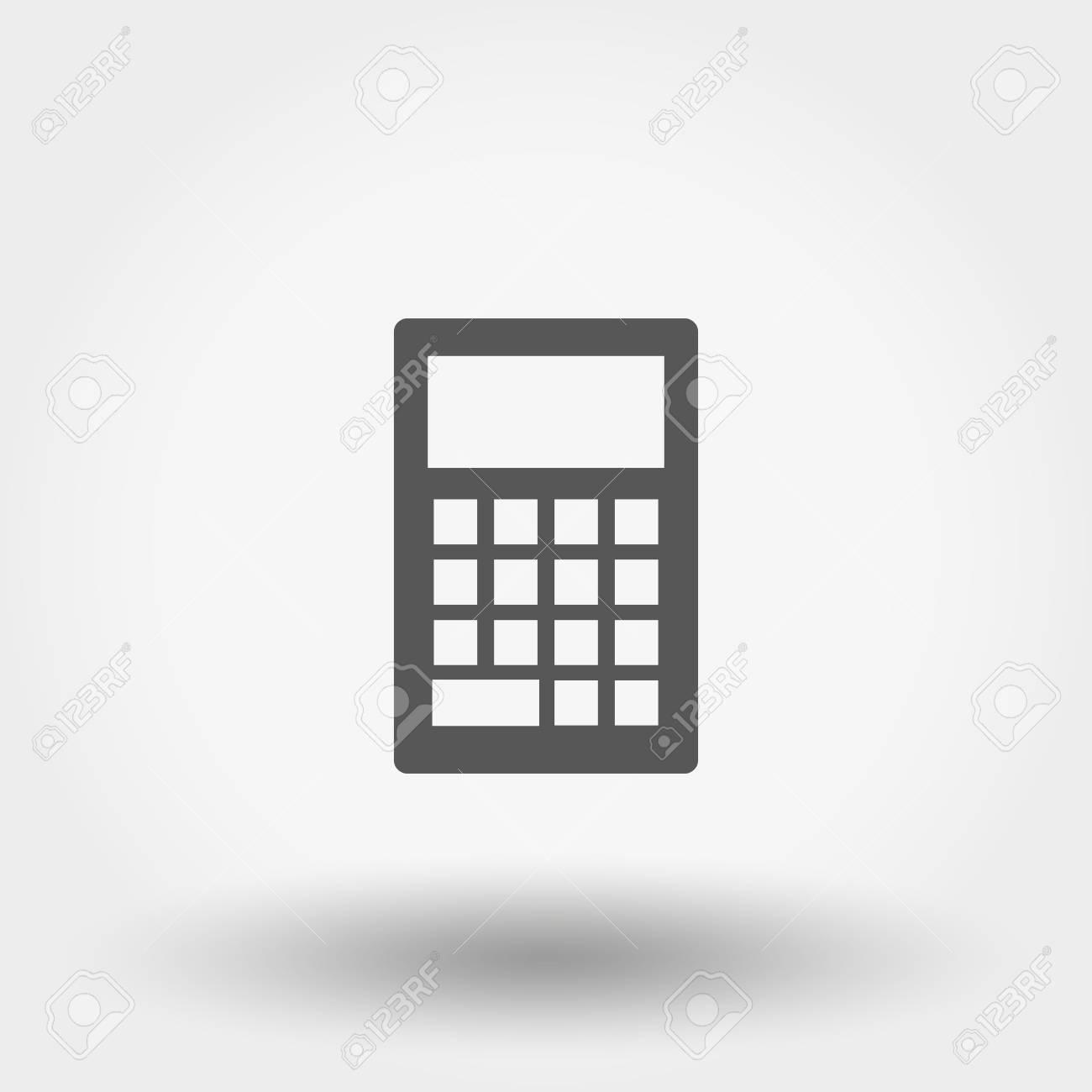 Taschenrechner Icon Für Web Und Mobile Anwendung