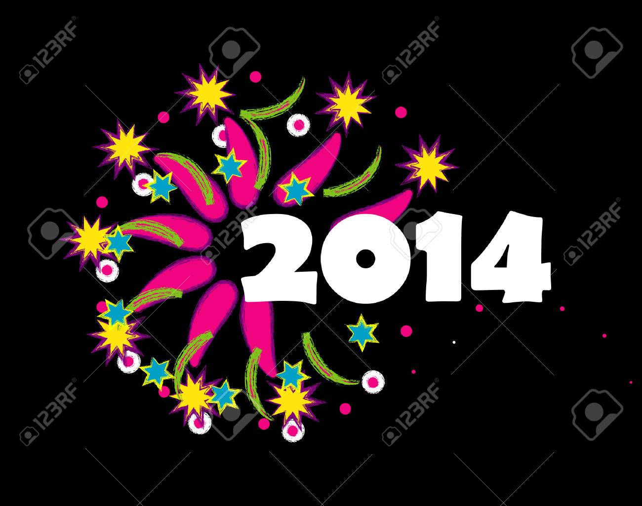 happy new year 2014 royalty free cliparts vectors and stock