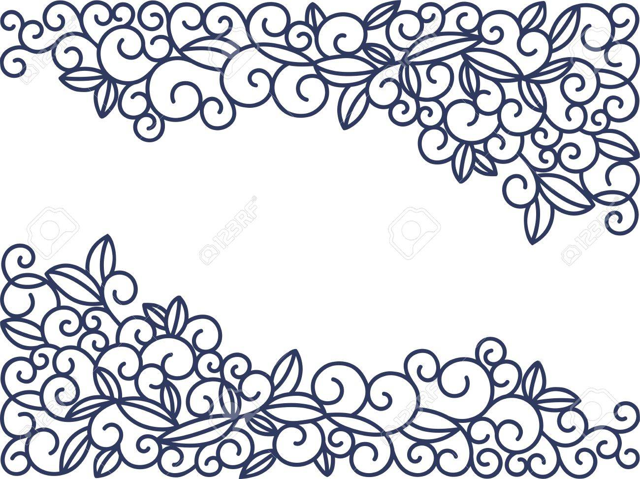 swirls vector illustration hand drawn line art design template rh 123rf com swirls vector illustration swirls vector png