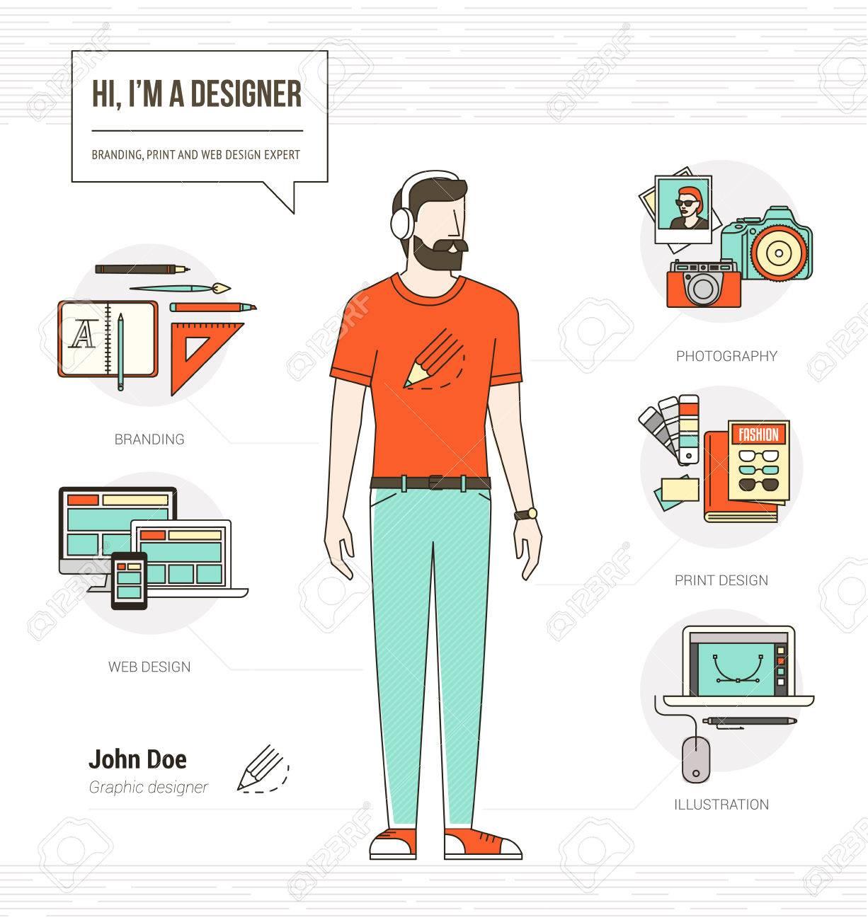 Diseñador Gráfico, Fotógrafo Y Infográficas Ilustrador Habilidades ...