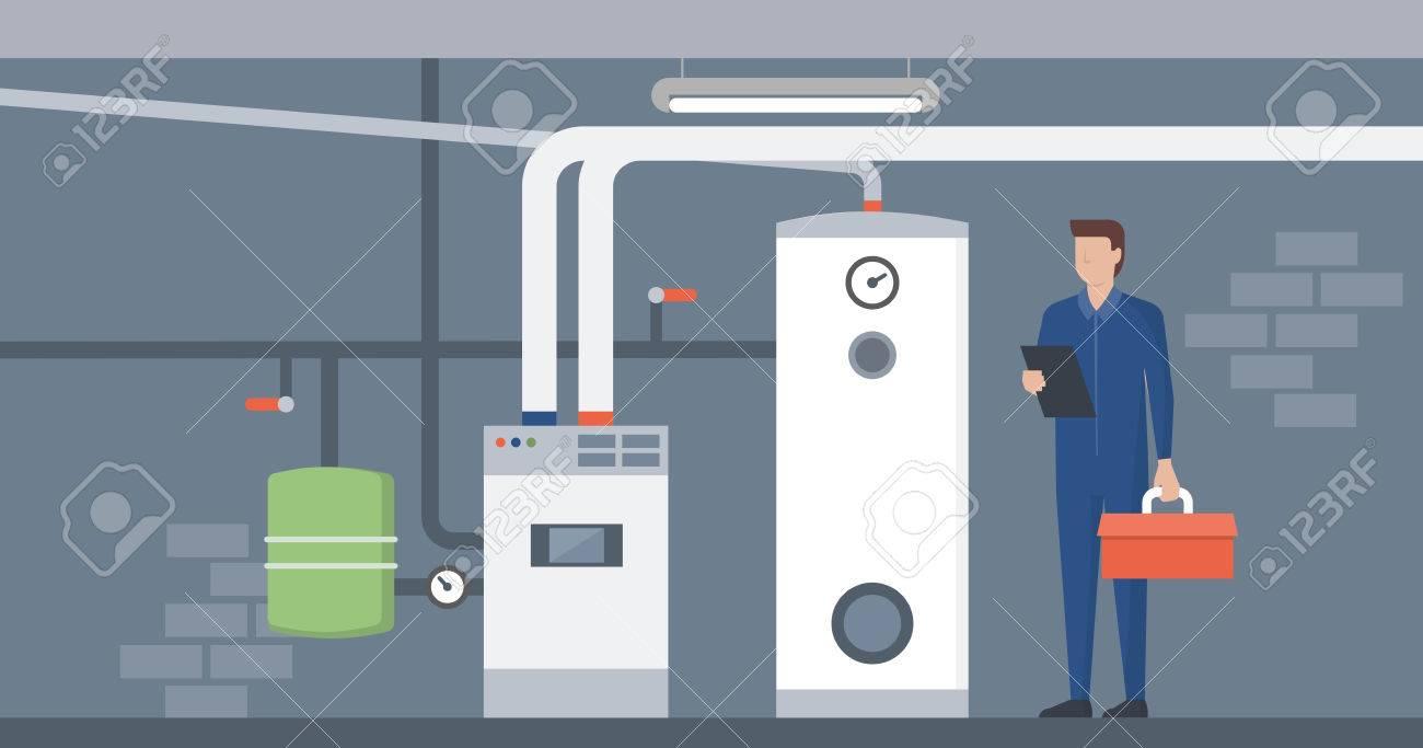 Erfreut Kessel Installation Bilder - Elektrische Schaltplan-Ideen ...