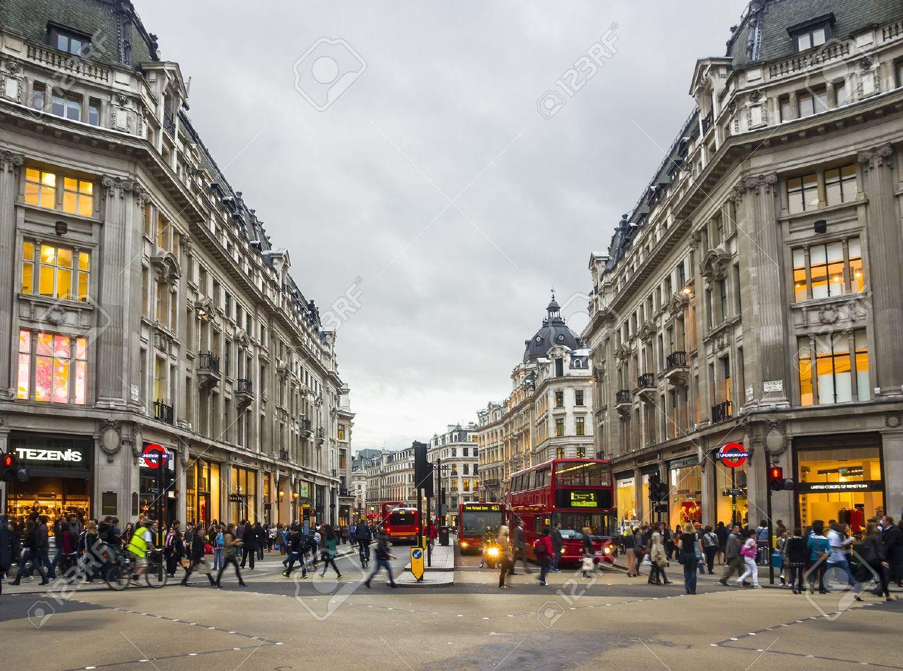 london 20 sept vue de oxford street le 20 septembre 2011 à londres