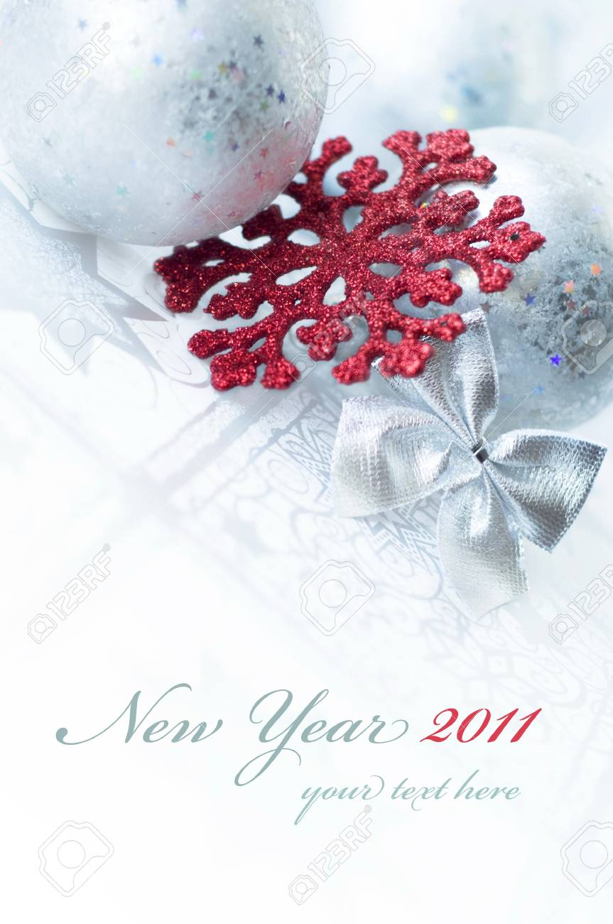 New Year's card - 8295945