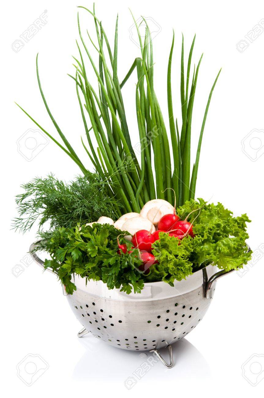 Fresh vegetables in the bowl - 9913197
