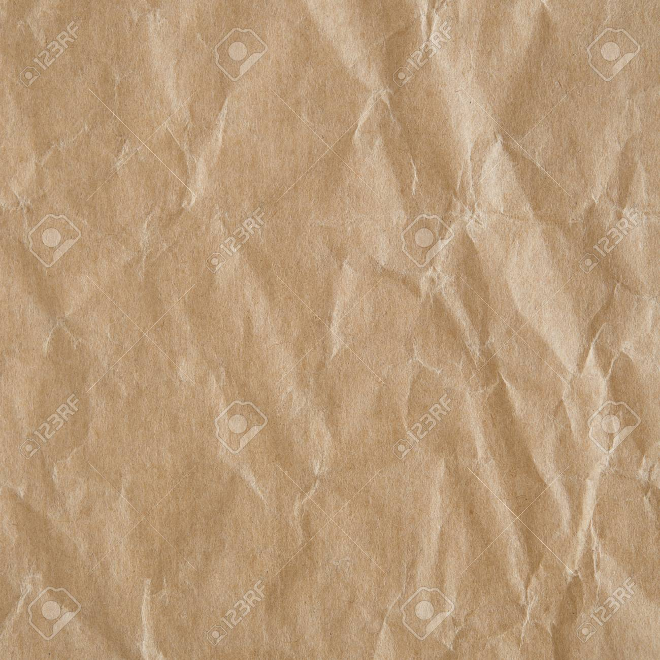 Crumpled eco paper background - 32132831