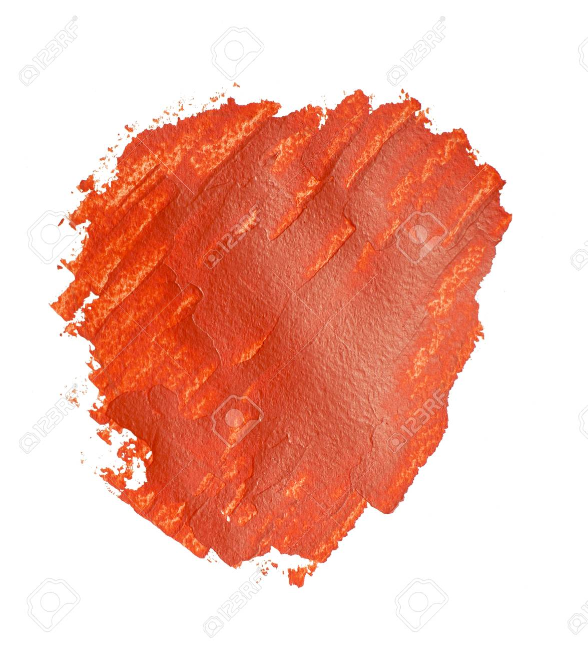 Red Paint Spot Red Daub Design Element Stock Photo Picture And