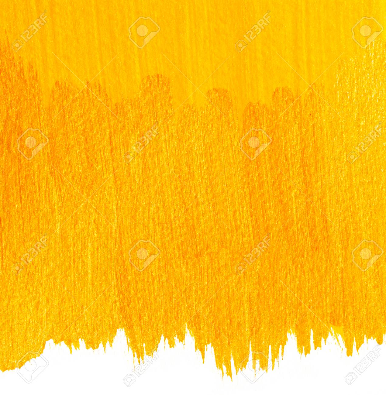 Yellow painted background  Handpainted acrylic banner