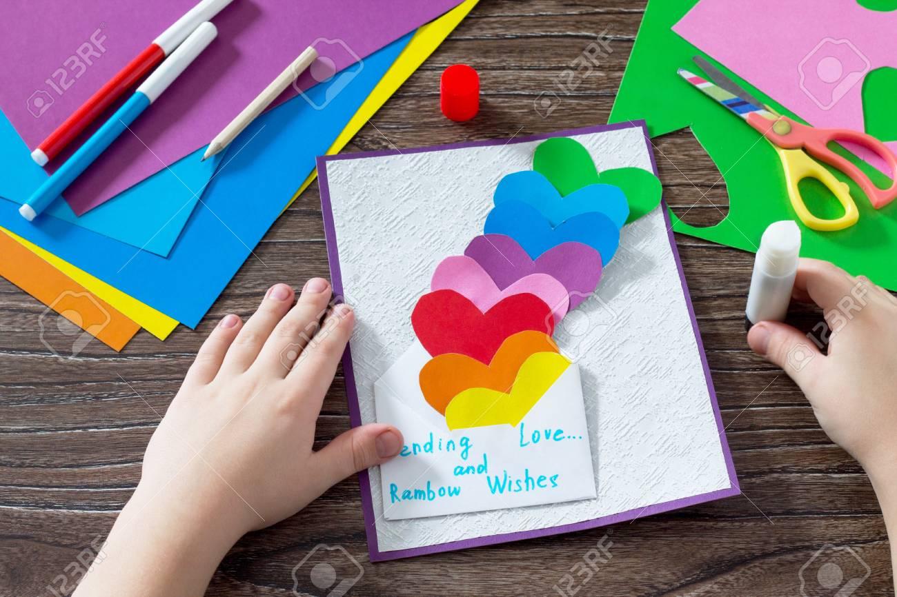 Geburtstag Muttertag Oder Valentinstag Hintergrund Grusskarte Mit