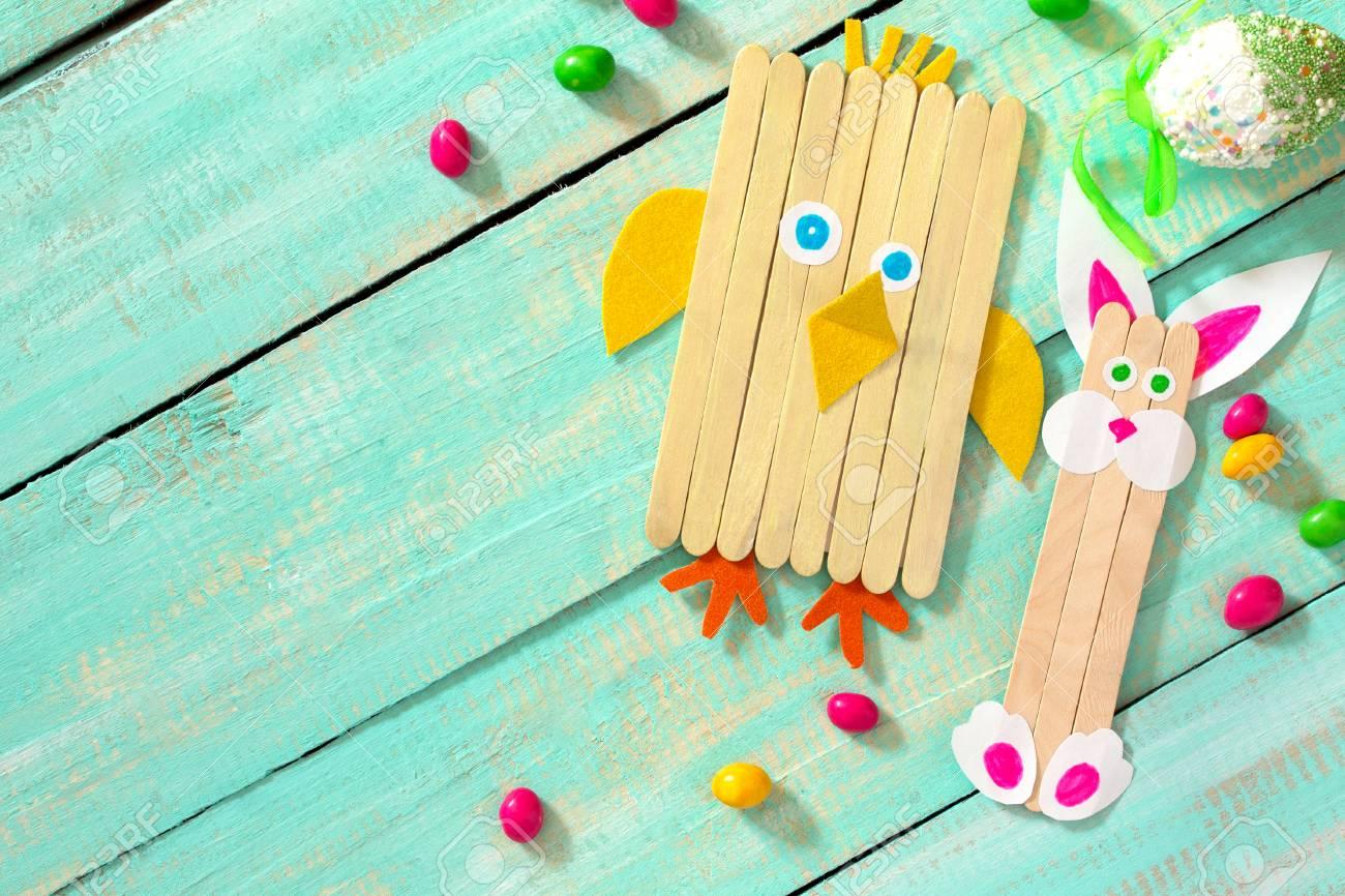 Creado Pollo Creatividad Por A ManoProyecto El Niño La Los De NiñosBordado Un Pollos ConejoHecho Juguete Y Pascua PwlOkiXTZu