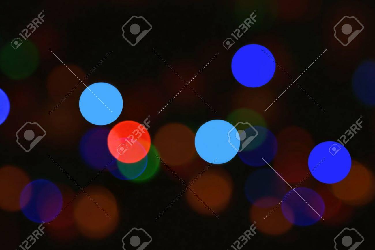 Colorful defocused lights. Stock Photo - 11963779