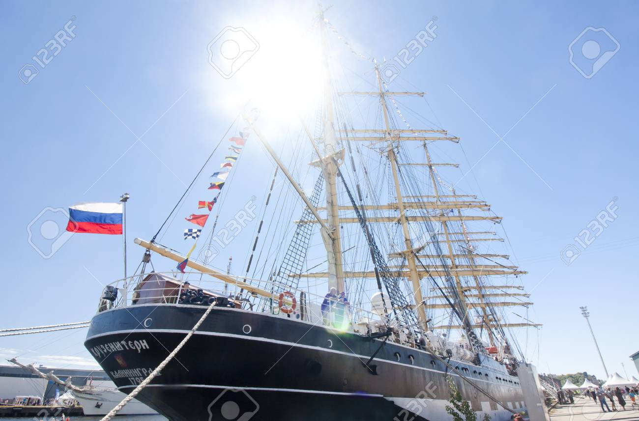 THE TALL SHIPS RACES KOTKA 2017  Kotka, Finland 16 07 2017  Barque