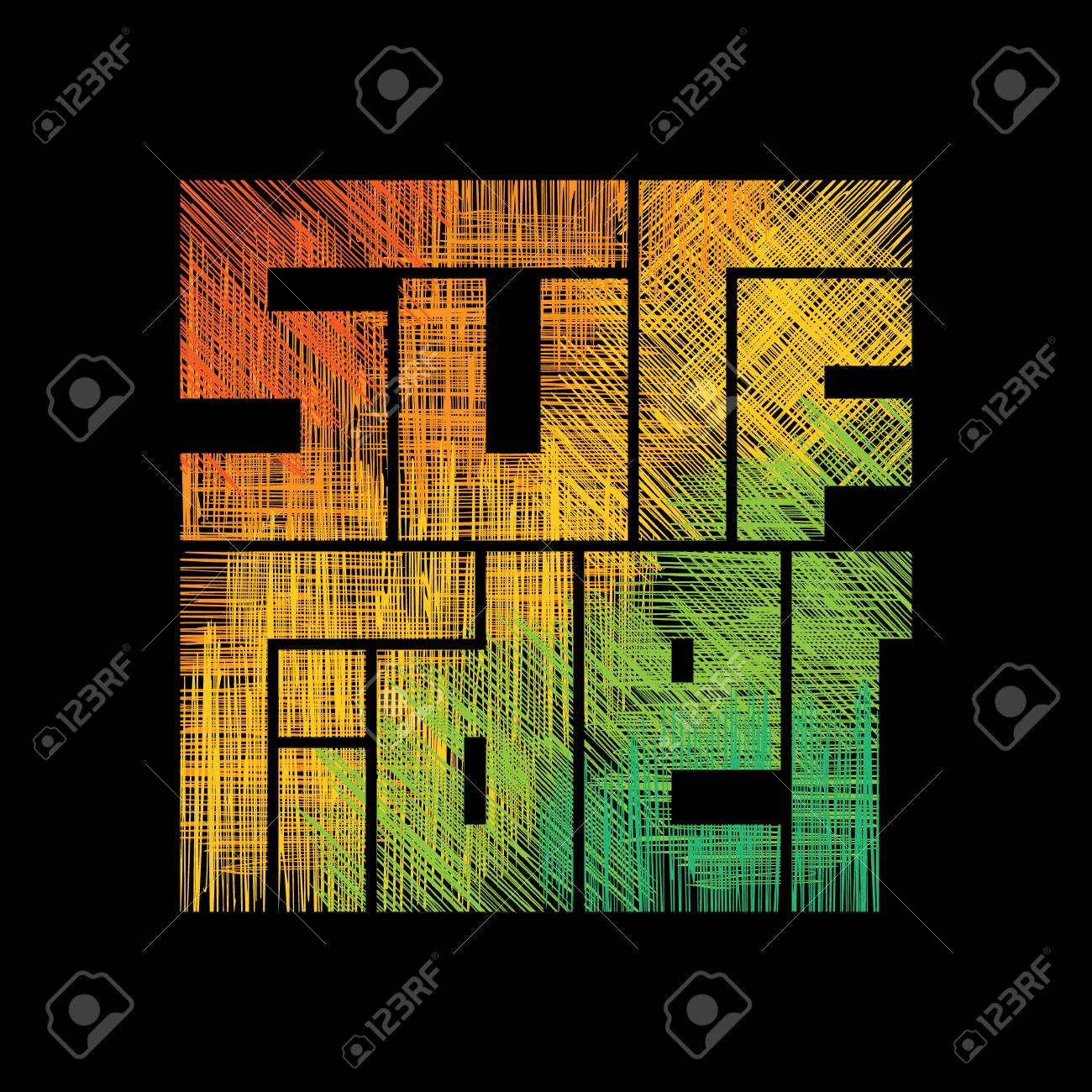 Surf Rider Typography Poster Concept For Print Production T Shirt Royalty Free Cliparts Vectors And Stock Illustration Image 111634671