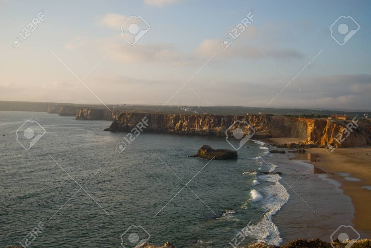 The beach on Algarve coast, Portugal Stock Photo - 20366536