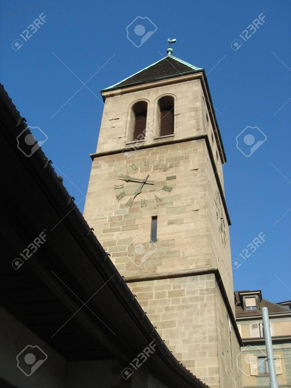 bell tower of chritian small church - 5112171