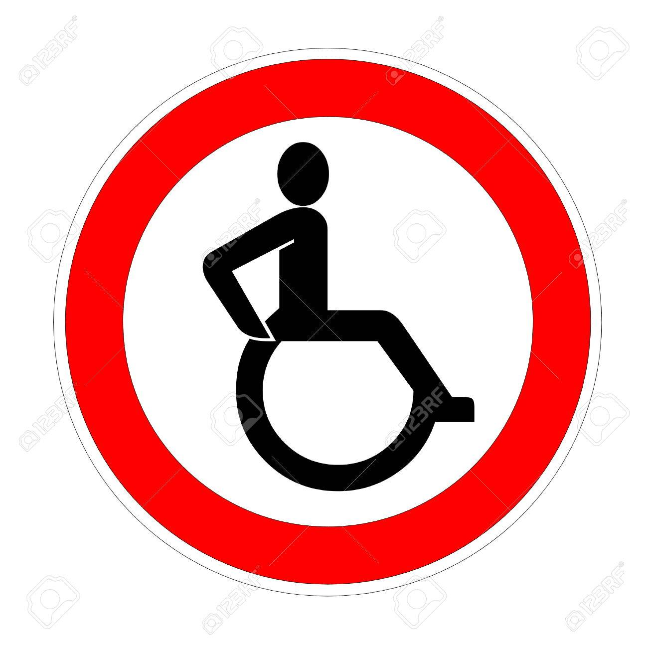 Showing post & media for Disabled person symbol | www.symbolsnet.com