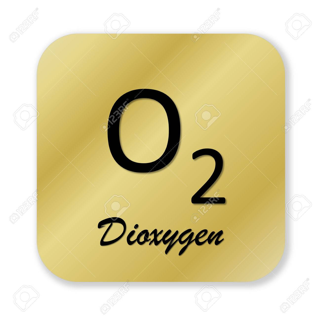 Golden chemical formula of dioxygen symbol isolated in white golden chemical formula of dioxygen symbol isolated in white background stock photo 45947676 buycottarizona