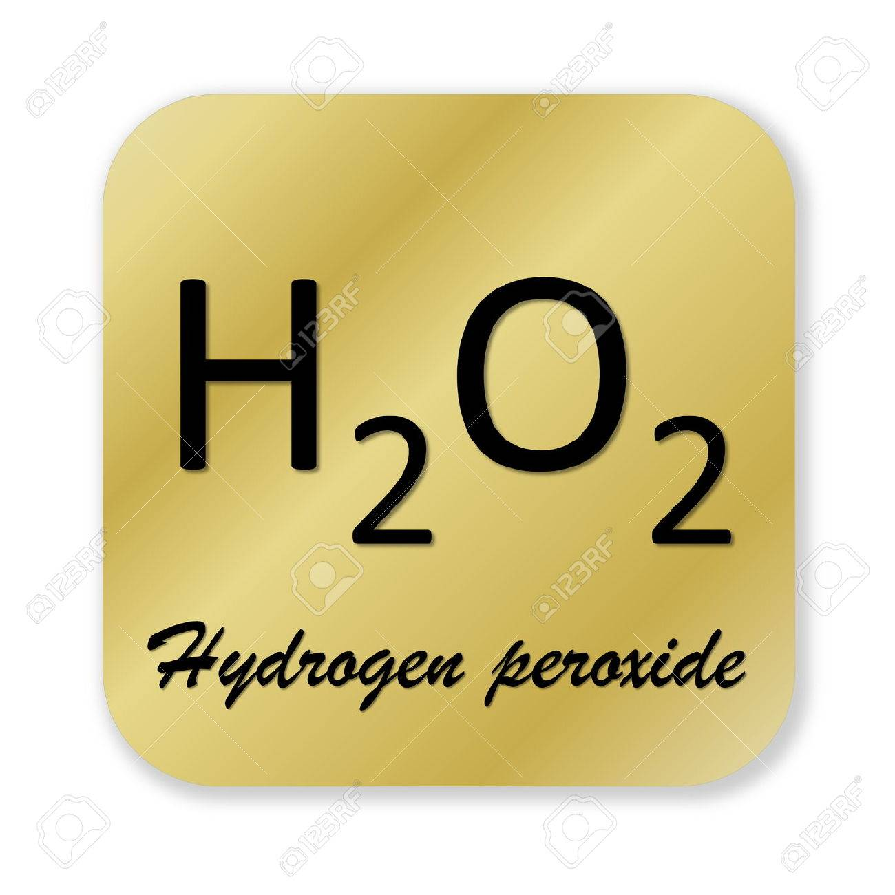 Golden chemical formula of hydrogen peroxide symbol isolated stock golden chemical formula of hydrogen peroxide symbol isolated in white background stock photo 46940868 buycottarizona Choice Image