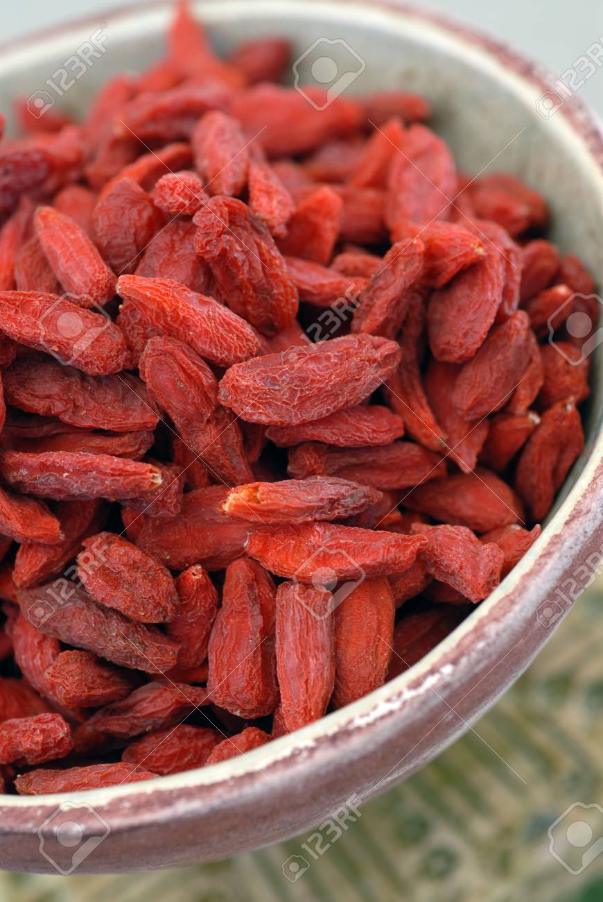 Tibetan Goji Berries noted for their high content of vitamins, polysaccharides, proteins, anti oxidants, and essential amino acids. - 881562