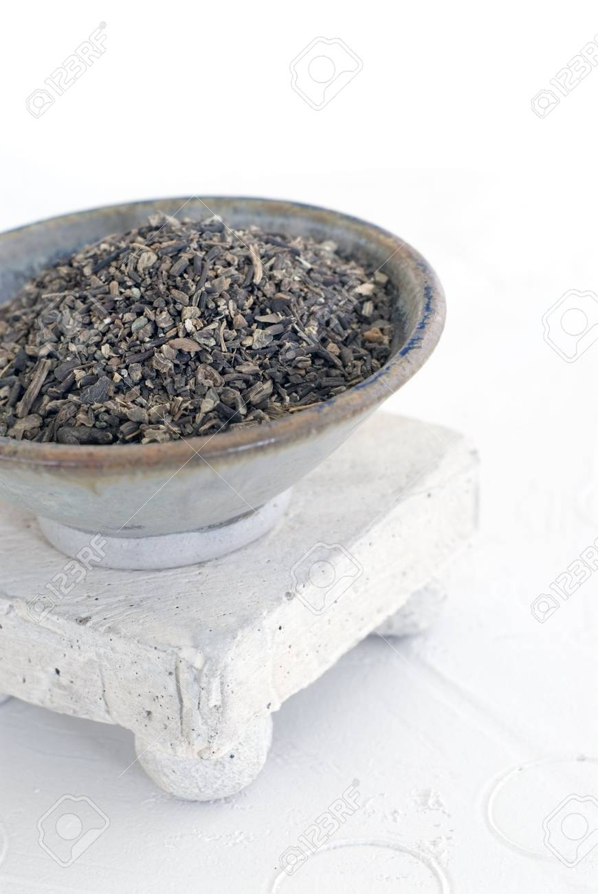 Whole Black Cohosh photographed in a white setting. Indicated for menopausal women. - 2095298
