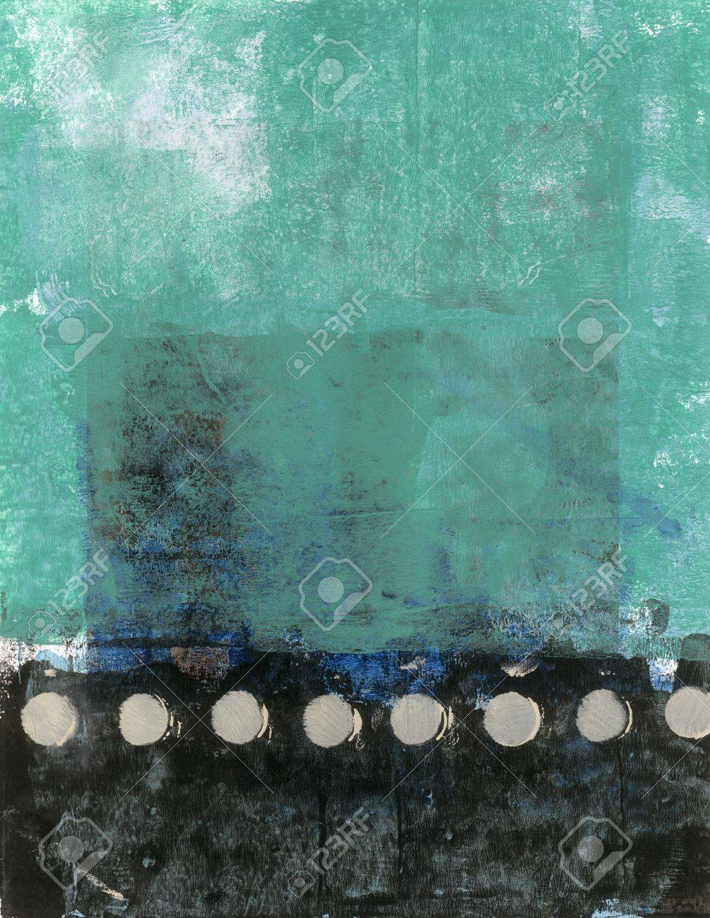Abstract painting to be used in design - 15512602