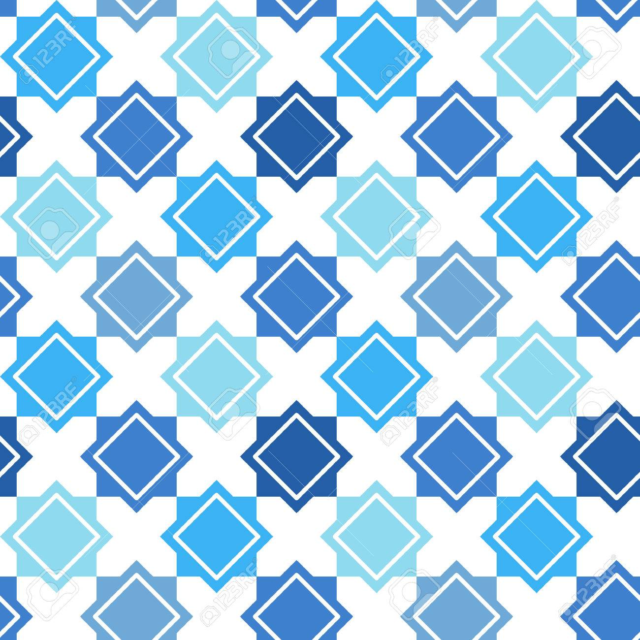 Abstract Geometrical Seamless Vector Pattern. Turkish Ornament ...