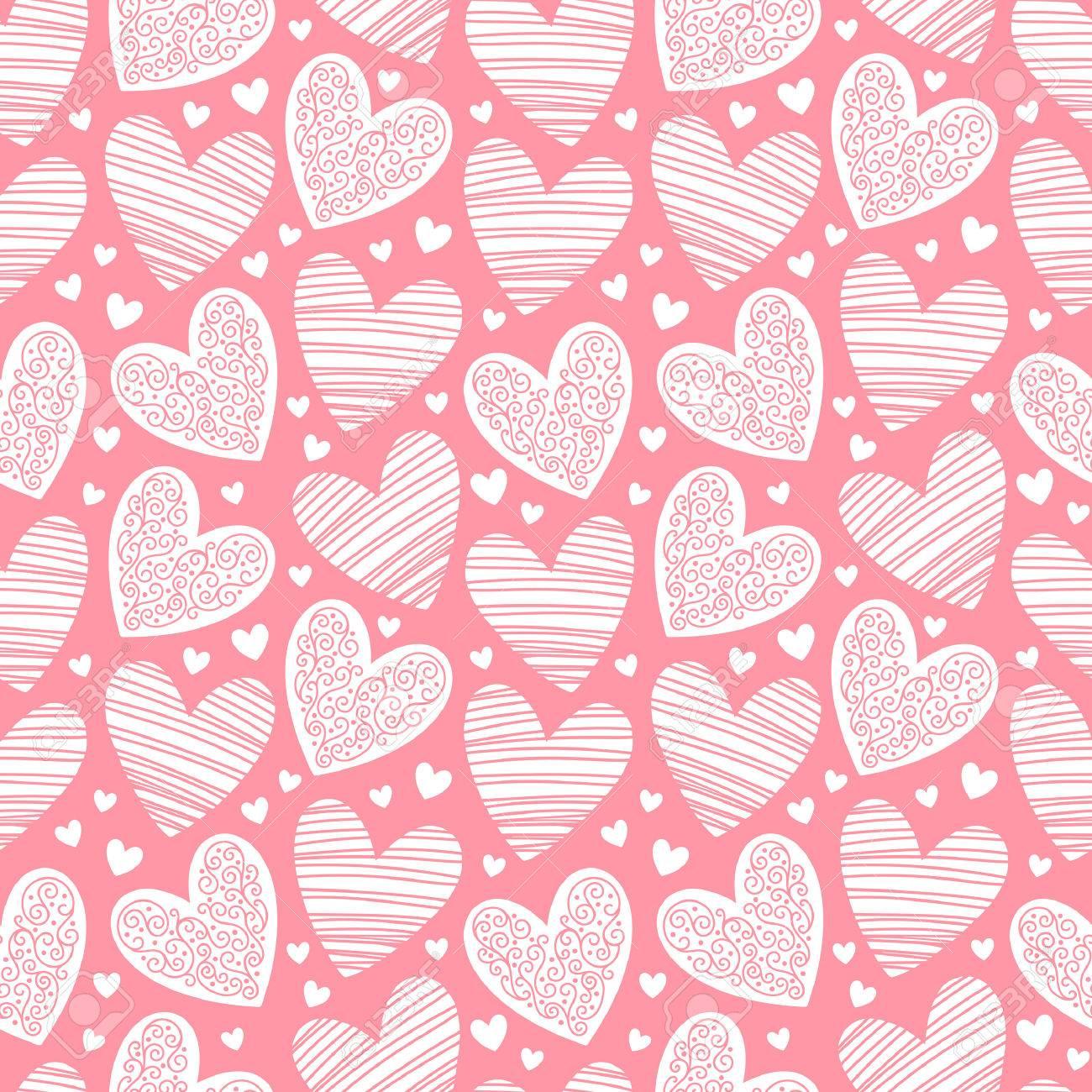 Vektorgrafiken Herz Muster Vektorbilder Herz