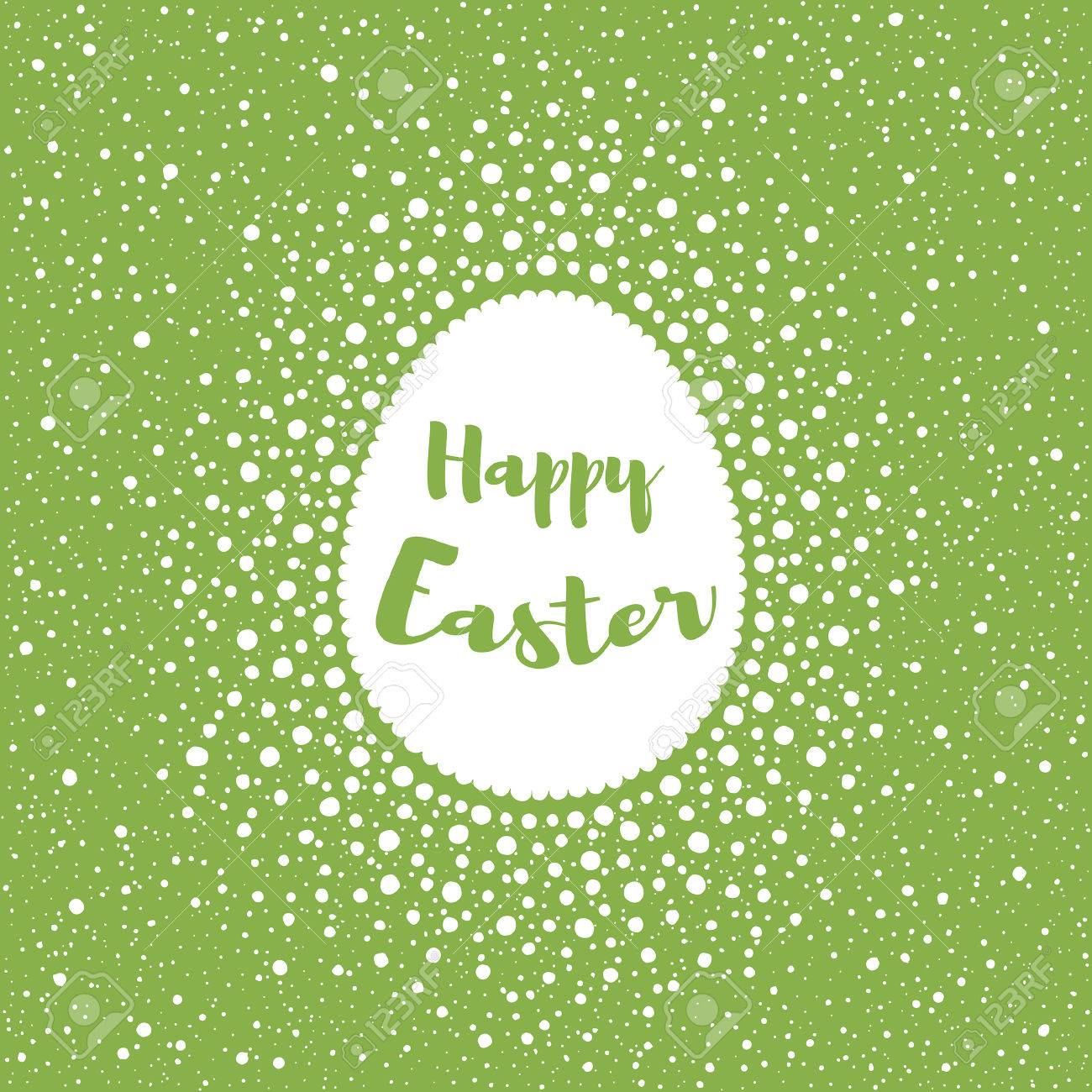 happy easter greeting card template splash or spray background