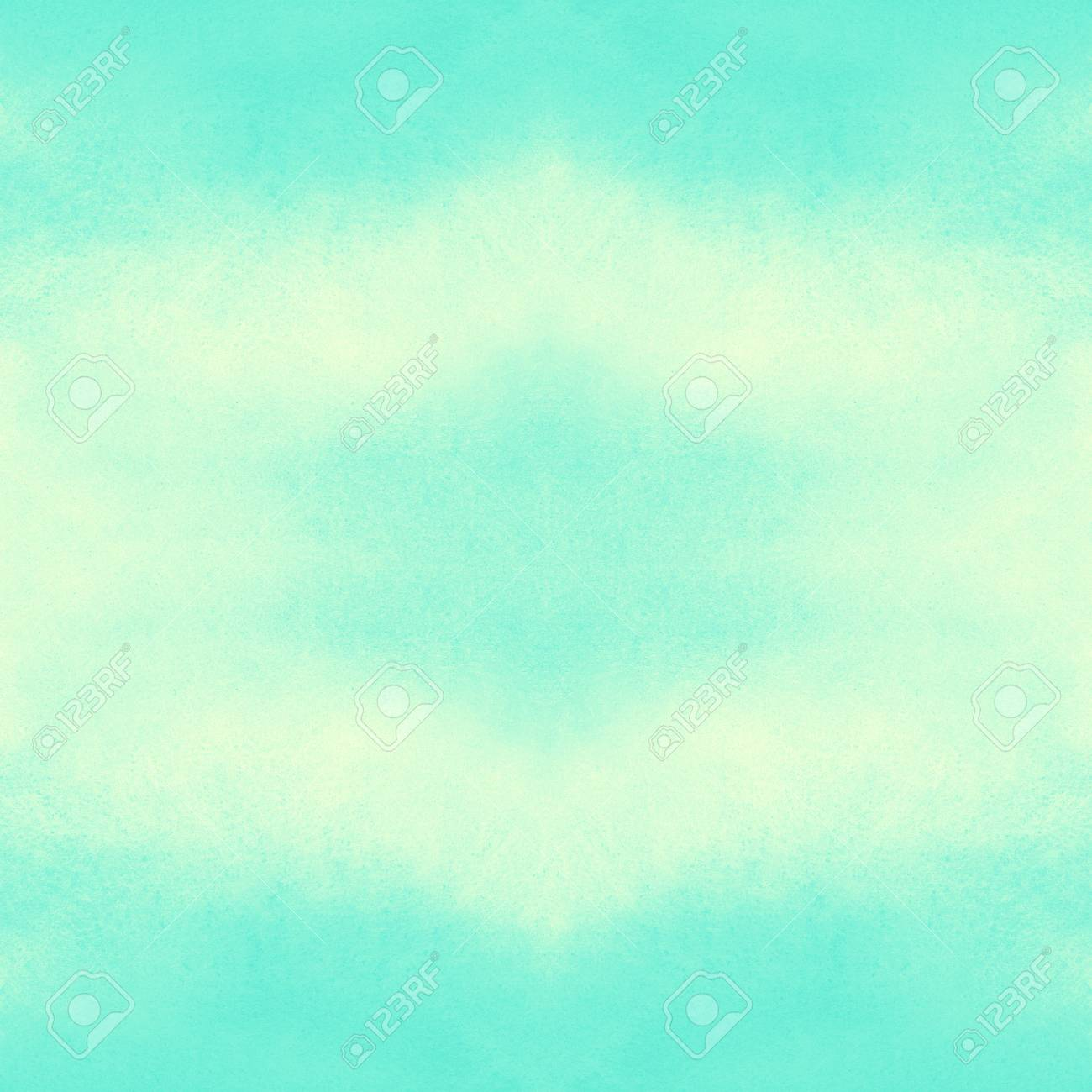 Watercolor Square Abstract Background With Symmetric Gradient