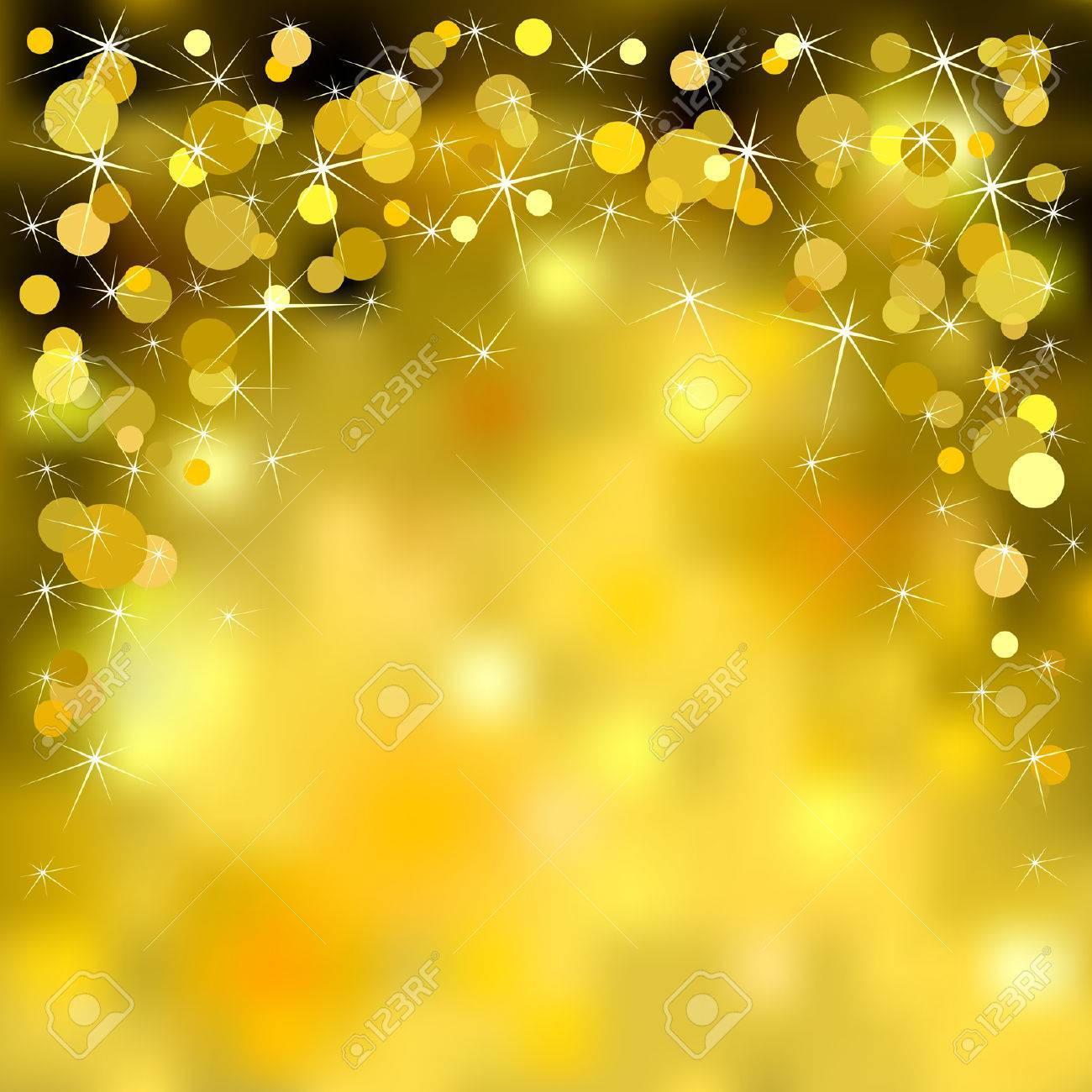 Gold Sparkles Clipart Christmas Gold Sparkle Shiny