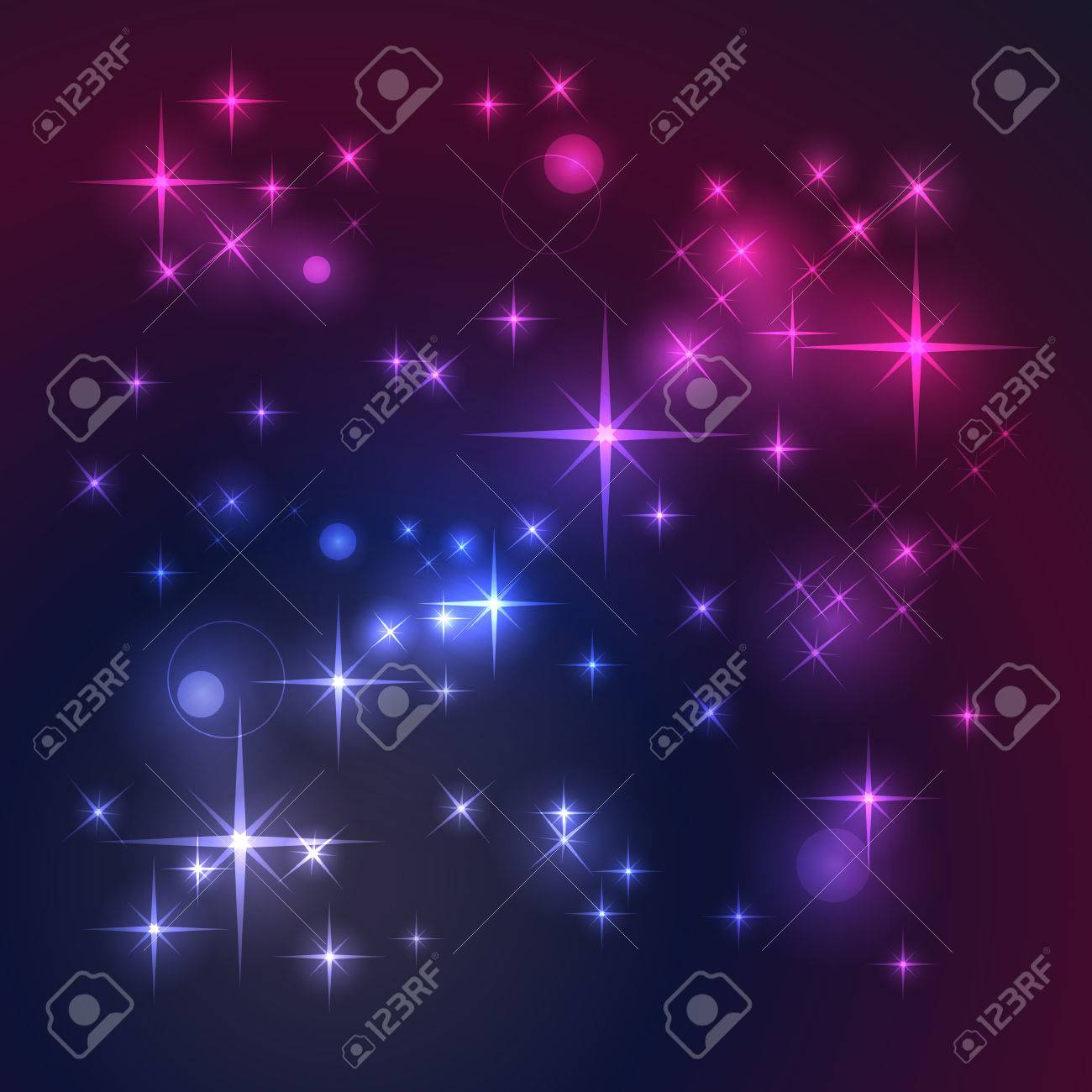 Space background with stars Stock Vector - 6927822