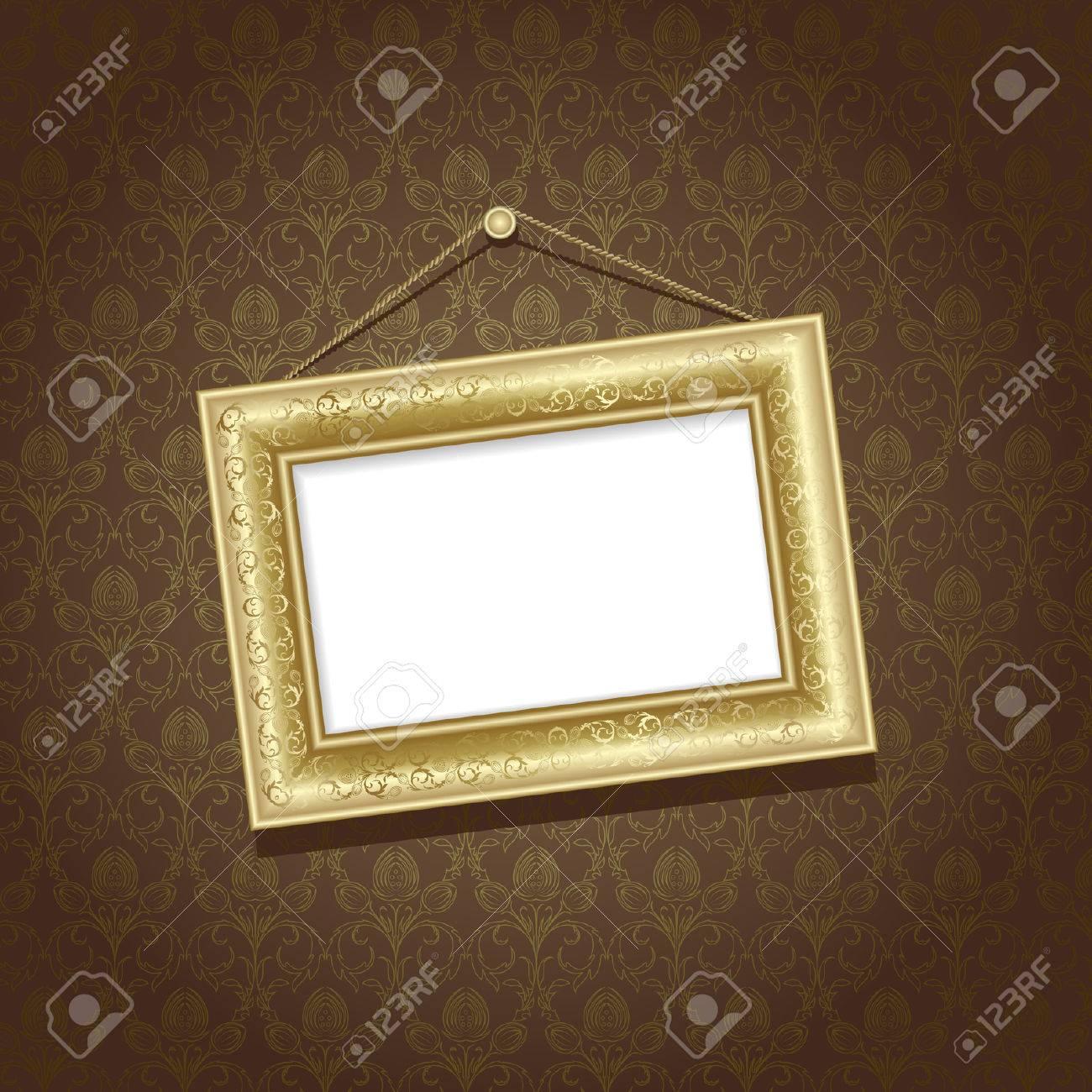 Gold Wallpaper für Wände