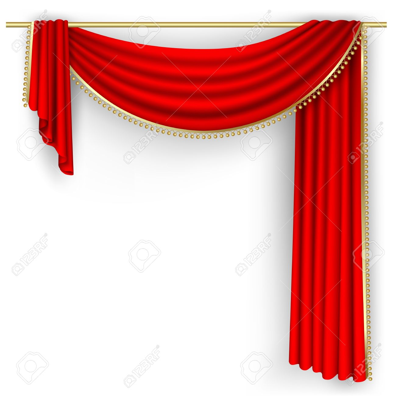 Blue stage curtains blue stage curtain vector free vector in - Stage Curtain Theater Stage With Red Curtain Illustration
