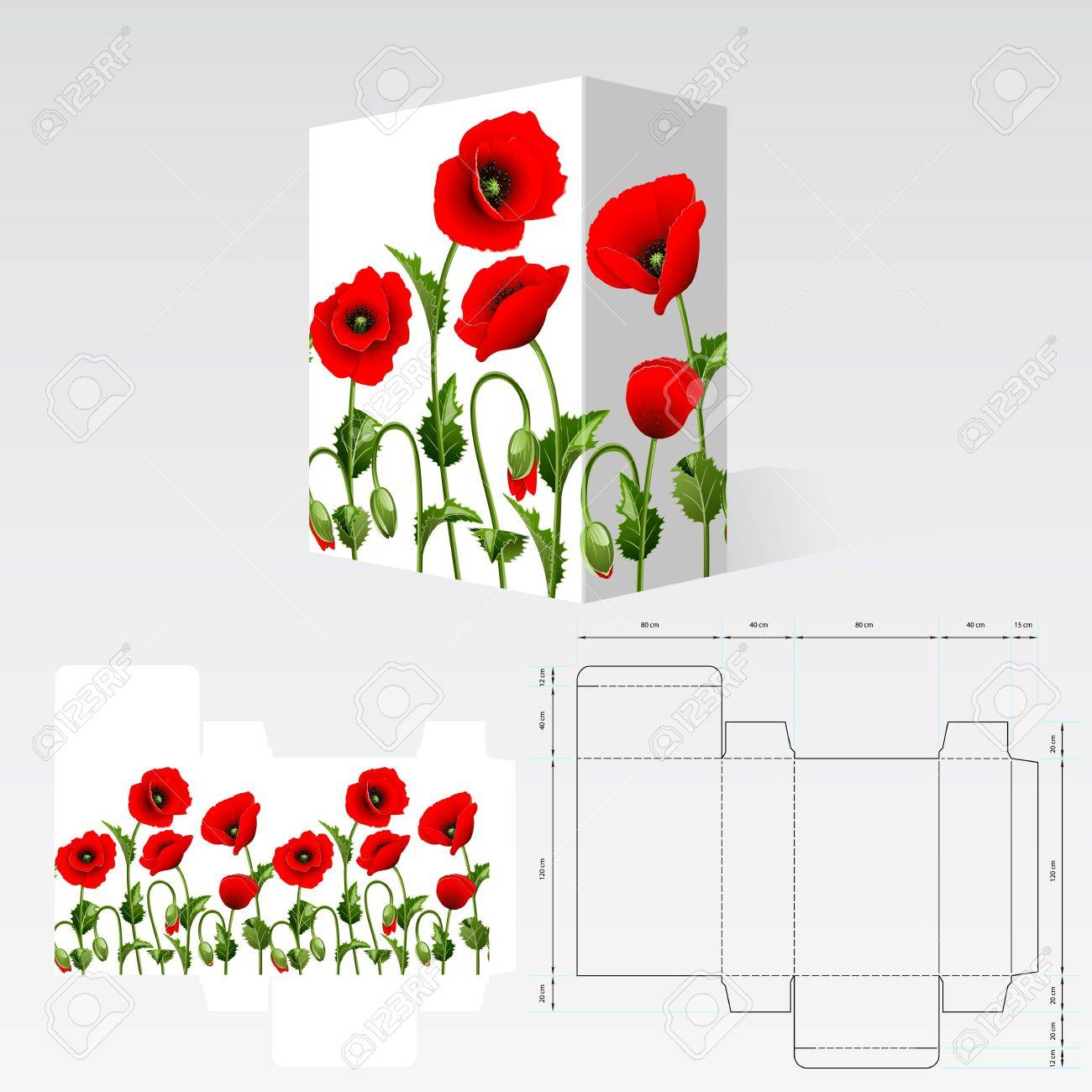 Completed packaging should be printed on paperboard or cardstock - 14220532