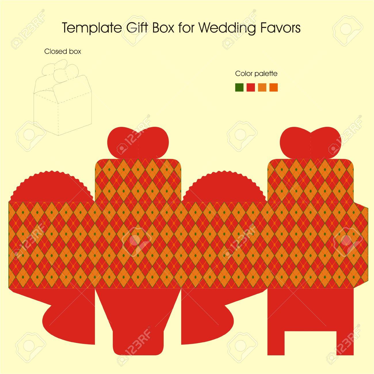 template gift box for christmas present royalty cliparts template gift box for christmas present stock vector 15921439