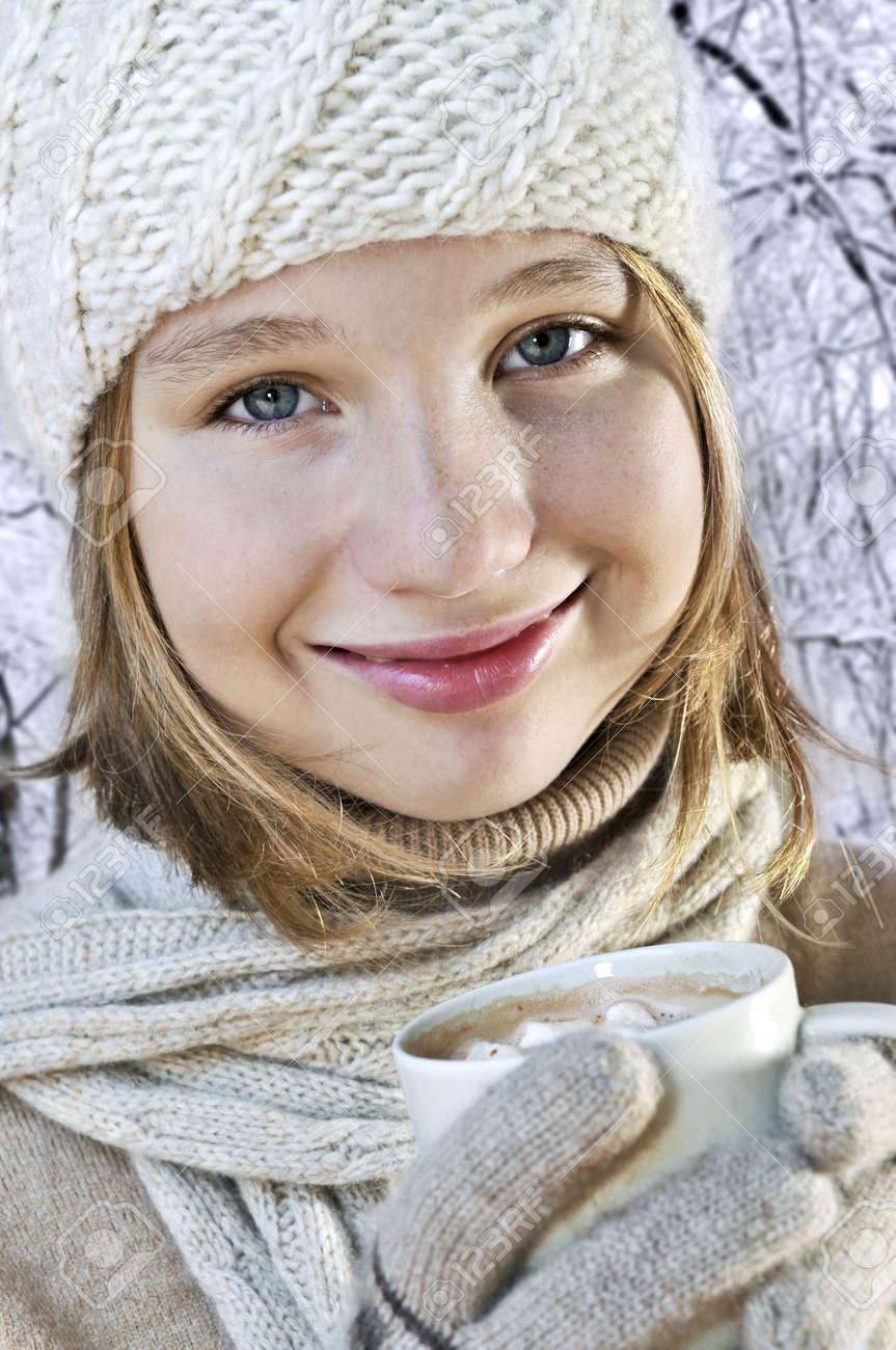 Heißes Teenager-Bild