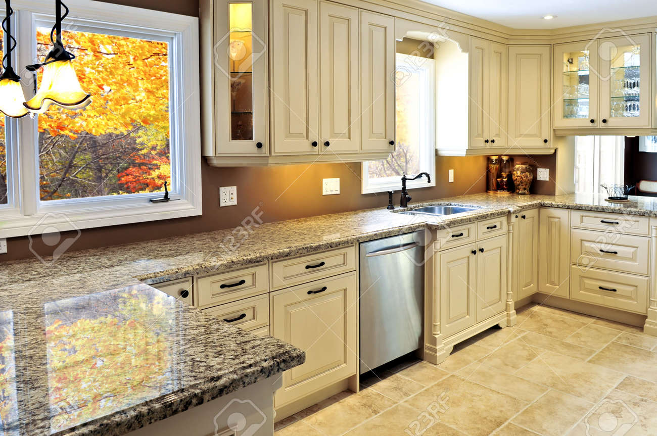 Modern Kitchen Granite Countertops granite countertop images & stock pictures. royalty free granite