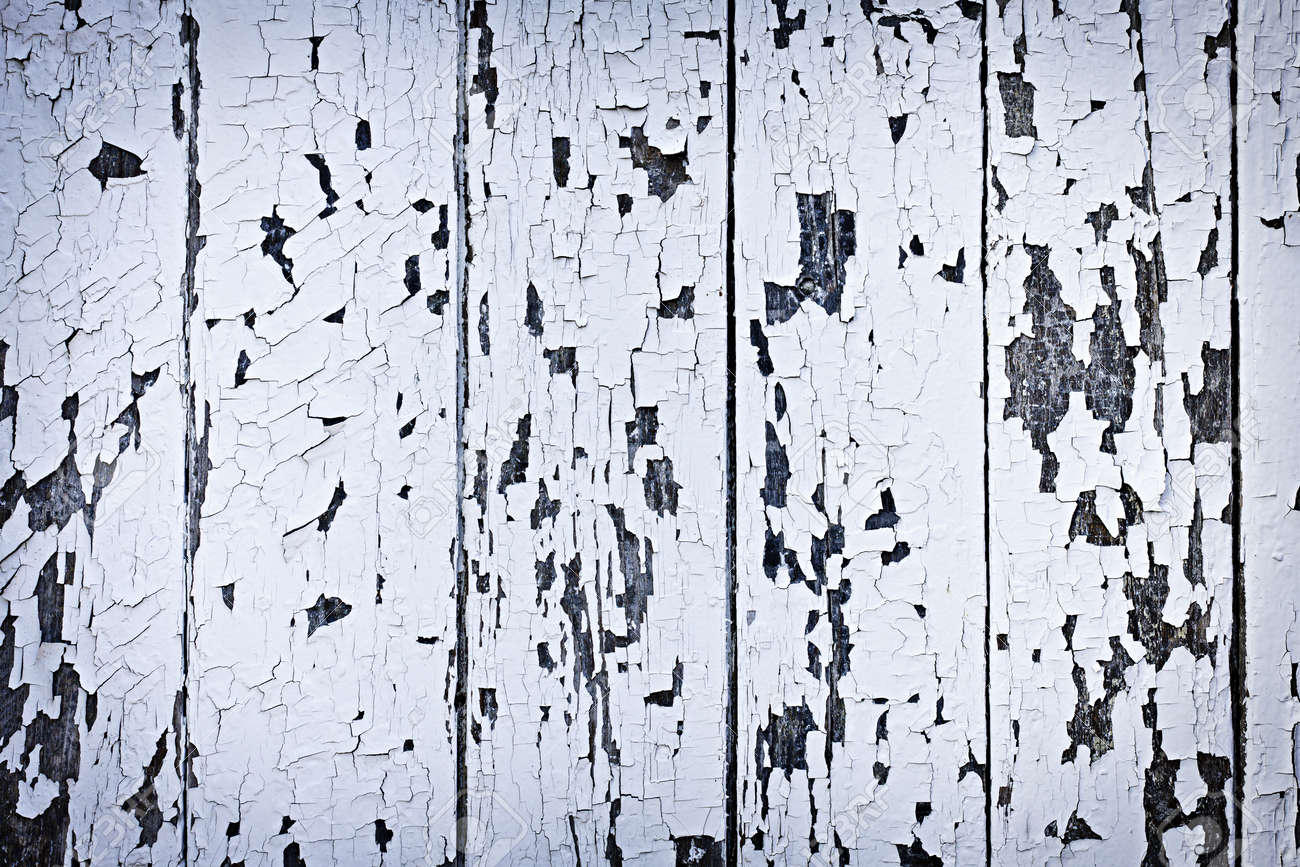 Old wooden boards as background - Background Of Old Wood Boards With Peeling Paint Stock Photo 12922991