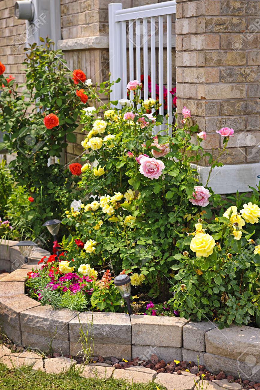 Rose Garden Landscaping Zandalus Net