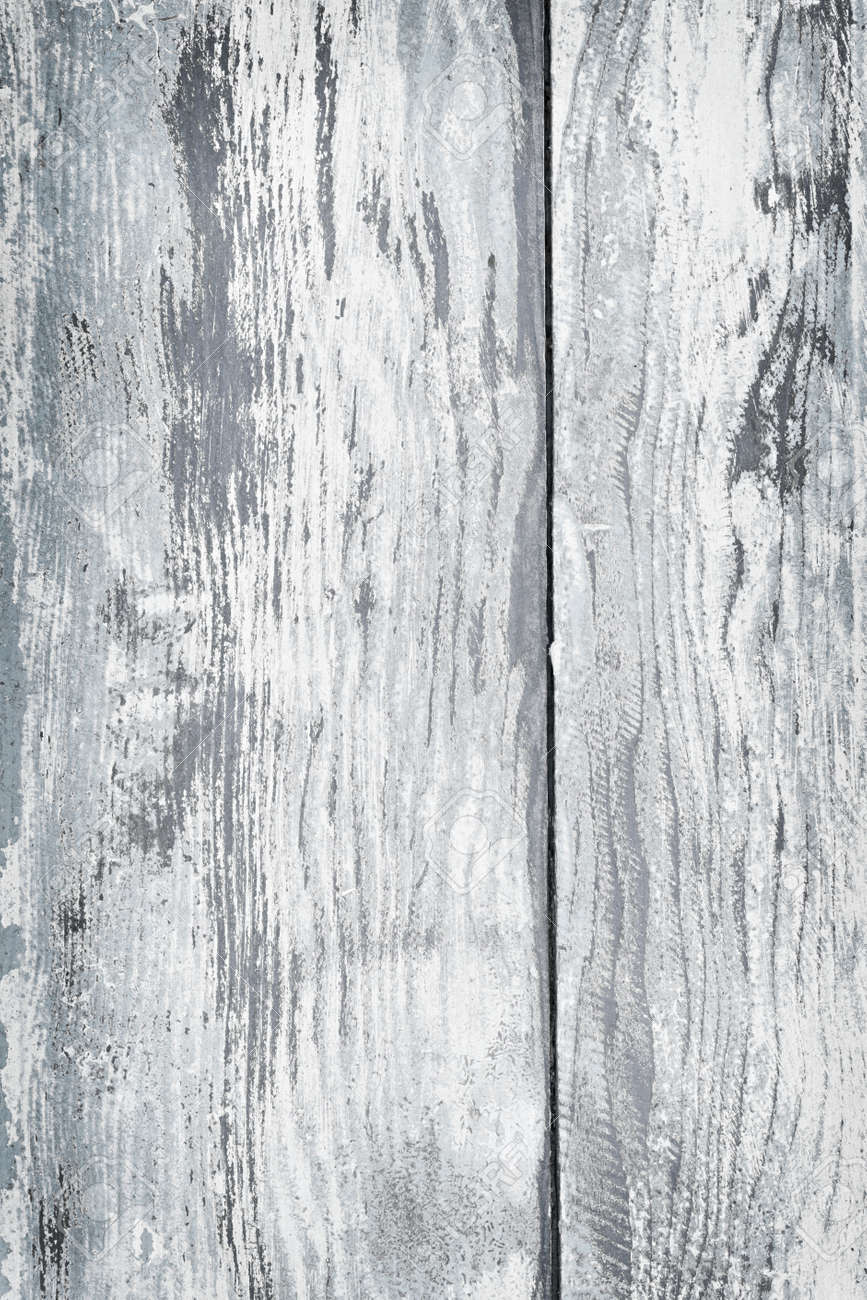 Textured background of distressed rustic wood with peeling blue and white paint Stock Photo - 16784843