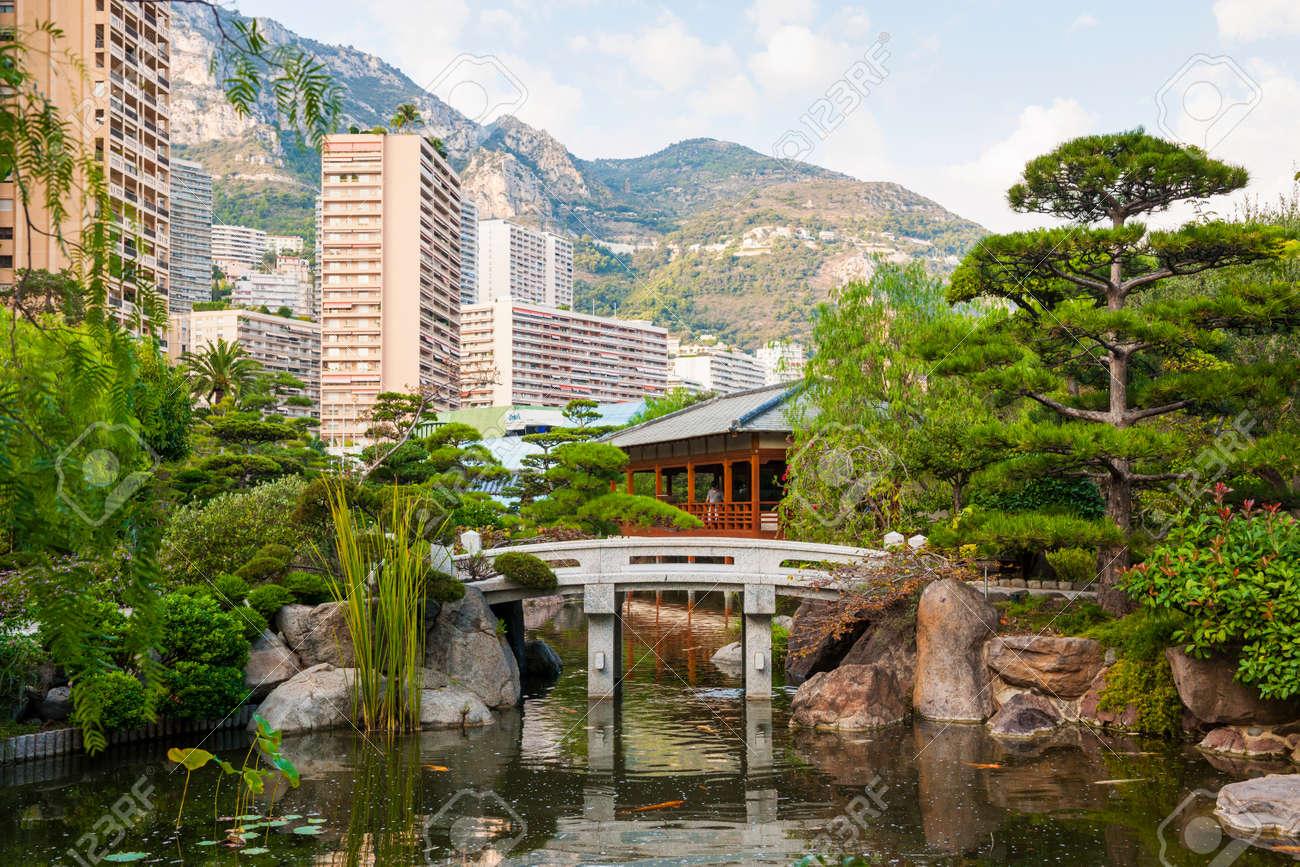 monte carlo モナコで日本庭園のモンテ カルロ モナコ 2014 年 10
