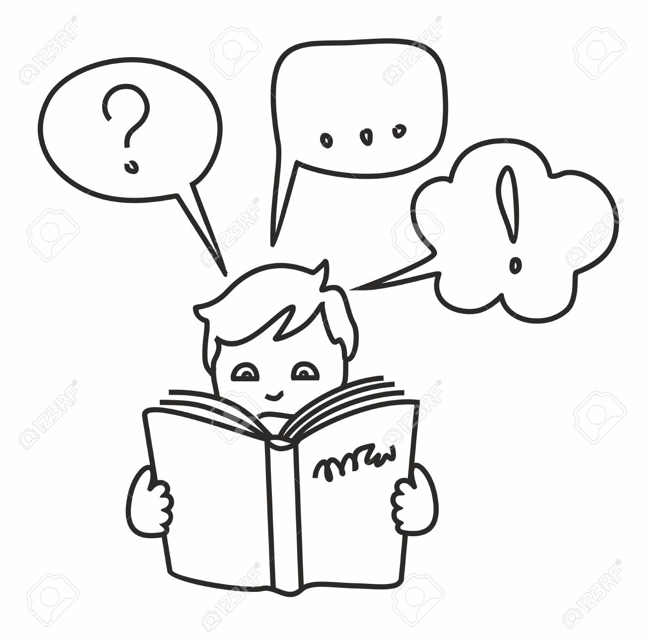 Read A Book Get Information Questions Answers Thoughts Outline