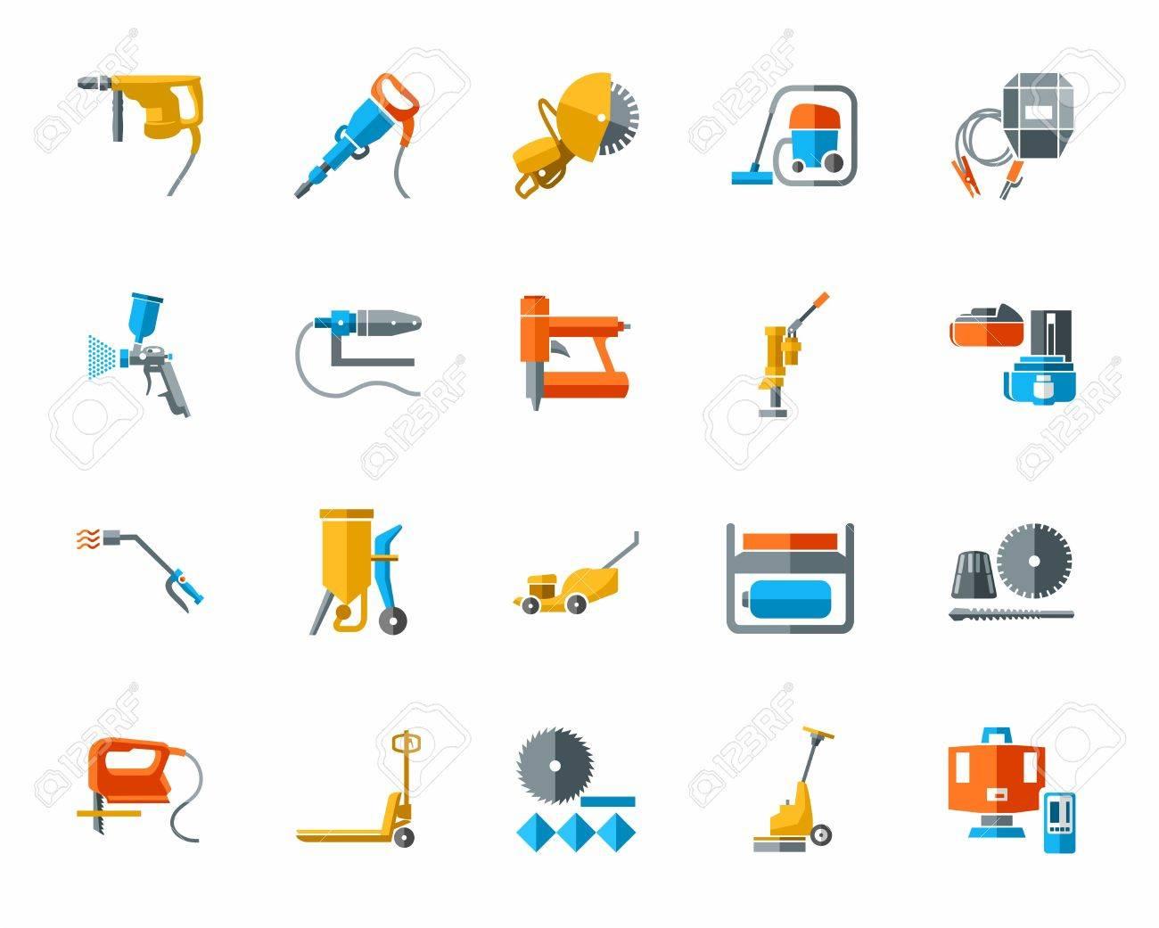 La Construcción De Herramientas Y Materiales De Construcción, Los ...