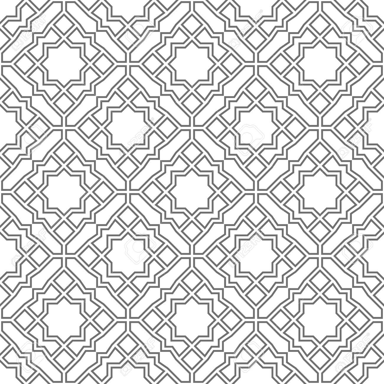 abstract geometry pattern in arabian style seamless vector background royalty free cliparts vectors and stock illustration image 97718289 abstract geometry pattern in arabian style seamless vector background